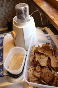 Leiva kuivatamine, leivapulber