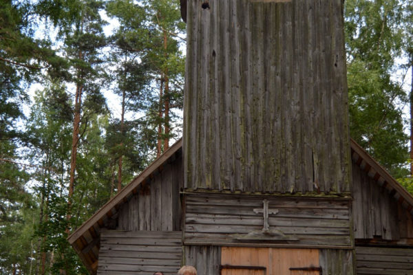 Vana kirik Puutlipalu metsas