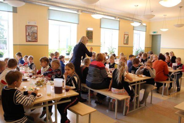 Tervislik toitumine Rõuge Põhikoolis